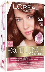 L'Oreal Excellence Cream No 5.6 Καστανό Μπορντώ