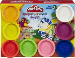 Hasbro Play-Doh Set Case Colors & Cans 8 τμχ