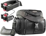 Mantona Set Premium Biker Photo Bag + 2 Adapter