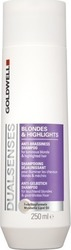 Goldwell Dual Senses Blondes Highlights Anti-Brassiness Shampoo (For Luminous Blonde Highlighted Hair) 250ml