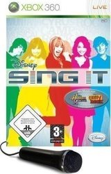 Disney Sing It (w/Microphone) XBOX 360