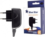 Blue Star micro USB Wall Charger Μαύρο (5901737197948)