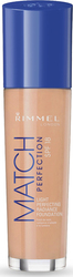 Rimmel London Match Perfection Unifying Make Up SPF18 100 Ivory 30ml