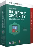 Kaspersky Internet Security Multi-Device 2016 (1 Licences , 1 Year)
