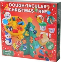 Playgo Πλαστοζυμαράκια Dough-Tacular Christmas Tree