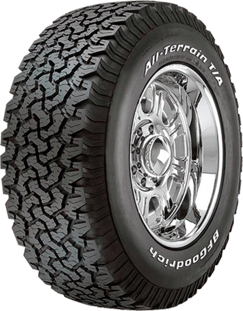bfgoodrich all terrain t a ko 265 65r17 120s. Black Bedroom Furniture Sets. Home Design Ideas