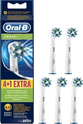 Oral-B Cross Action 4+1τμχ