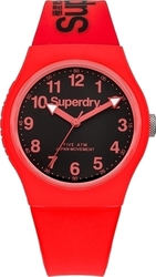 Superdry Urban Three Hands Rubber Strap SYG164RB