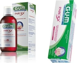 GUM Paroex 0.12% 300ml + Paroex Toothpaste 0.12% 75ml