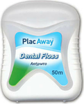 PlacAway Dental Floss Unwaxed 50m