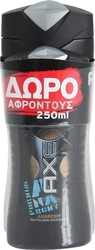 Axe Anarchy Shower Gel 400ml & 250ml