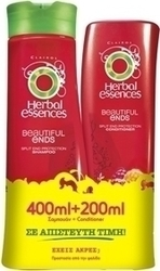 Herbal Essences Beautiful Ends Shampoo 400ml & Conditioner 200ml