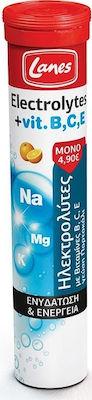 Lanes Electrolytes Vitamine B C E 20 αναβράζοντα δισκία