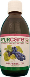 Ayurcare Grape Seed Base Essential Οil 250ml
