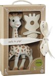 Vulli Sophie the Giraffe and Natural Teether Set 2τμχ