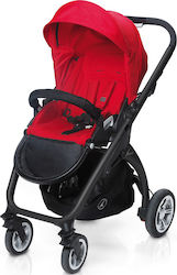Casual Play Kudu 4 Black Red