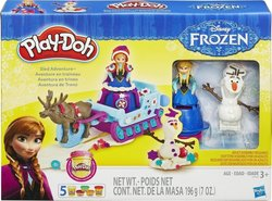 Hasbro Play-Doh Sled Adventure Featuring Disney's Frozen