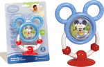 Clementoni Disney Baby Mickey Mouse Rattle with Sucker 1τμχ