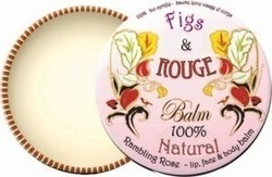 Figs & Rouge Lip Balm Tin Rambling Rose