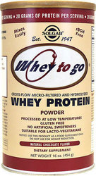 Solgar Whey to Go Protein Chocolate 340gr