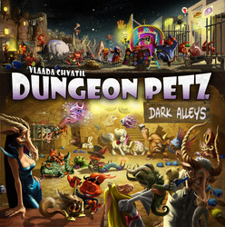 Czech Games Edition Dungeon Petz: Dark Alleys (Exp.)