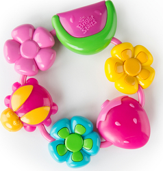 Bright Starts Buggie Bites Teether Pink 1τμχ