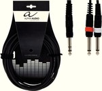 Alpha Audio Cable 6.3mm male - 2x 6.3mm male 6m (190.110)