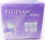 Flufsan Active Extra Large 14τμχ