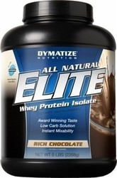 Dymatize All Natural Elite Whey Protein 5Lbs Rich Chocolate