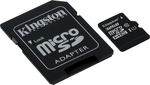 Kingston microSDHC 32GB U1 with Adapter (45MB/s)