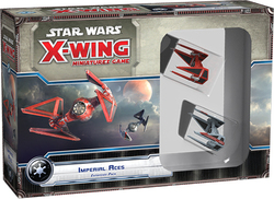 Fantasy Flight Star Wars X-Wing: Imperial Aces Expansion Pack