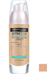 Maybelline Affinitone Mineral Foundation 45 Light Honey 30ml