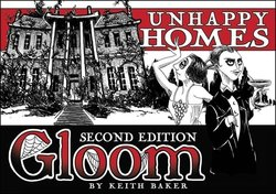 Atlas Games Gloom: Unhappy Homes 2nd Edition Expansion