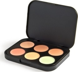 BH Cosmetics 6 Color Concealer & Corrector Palette Light