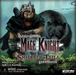 WizKids Mage Knight: Shades of Tezla Expansion