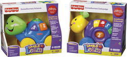 Fisher Price Laugh & Learn Συρόμενα Ζωάκια
