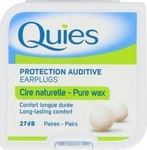 Quies Wax earplugs 7 ζεύγη