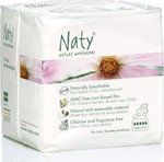 Naty by Natura Babycare Σερβιέτες νύχτας 10τμχ