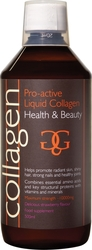 Total Health Solutions Collagen Pro-active Liquid 500ml Φράουλα