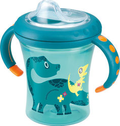 Nuk Easy Learning Starter Cup με Ρύγχος 200ml Γαλάζιο, 6m+
