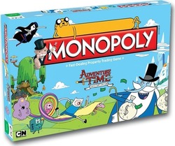 Winning Moves Monopoly: Adventure Time