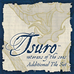 Calliope Games Tsuro Veterans of the Seas Additional Tile Set