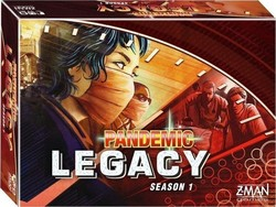 Z-Man Games Pandemic Legacy (Red Edition)