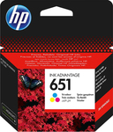 HP 651 Tri-color (C2P11AE)