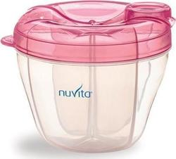 Nuvita Milk Powder Container and Dispenser Pink