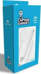 Captain Gadget 3-in-1 Sports Pack Wii