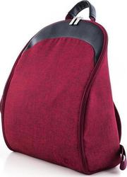 Moon Buggy Rubin Red Melange Backpack
