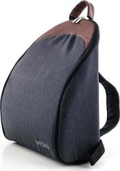 Moon Buggy Black Denim Backpack