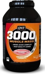 QNT 3000 Muscle Mass 1300gr Strawberry