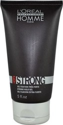 L'Oreal Professionnel Homme Strong Hold Gel 150ml